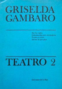TEATRO 2 GAMBARO