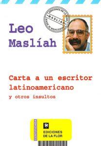 Carta a un escritor latinoamericano