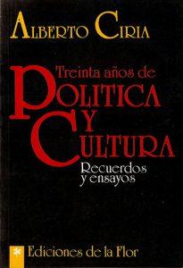 30 años de política y cultura