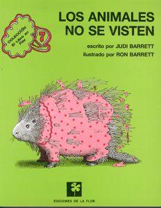 LOS ANIMALES NO SE VISTEN